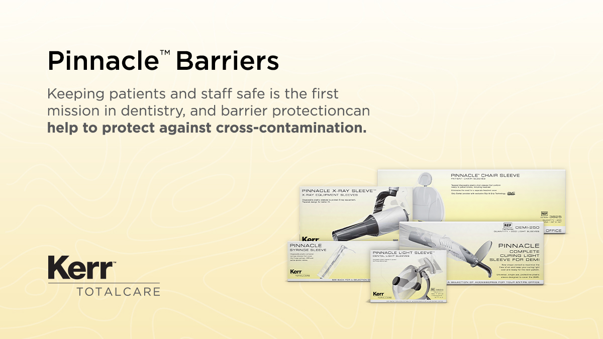 Have enough barriers?  When paired with surface disinfection, barriers are a complimentary infection prevention product, and may help reduce your surface disinfection use while these items are on temporary shortages across the industry.  Check out all of our barriers on our site! https://t.co/p5Q9j6UM6l