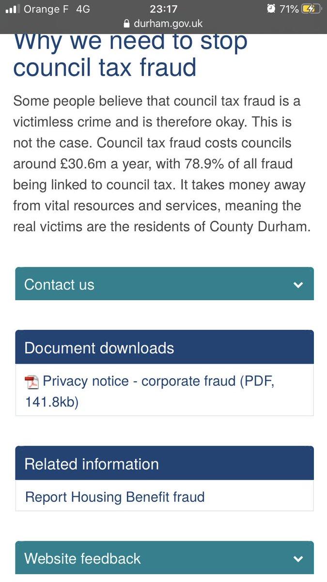 Jessica Simor Qc On Twitter Council Tax Fraud Https T Co Tpfn8xmekk
