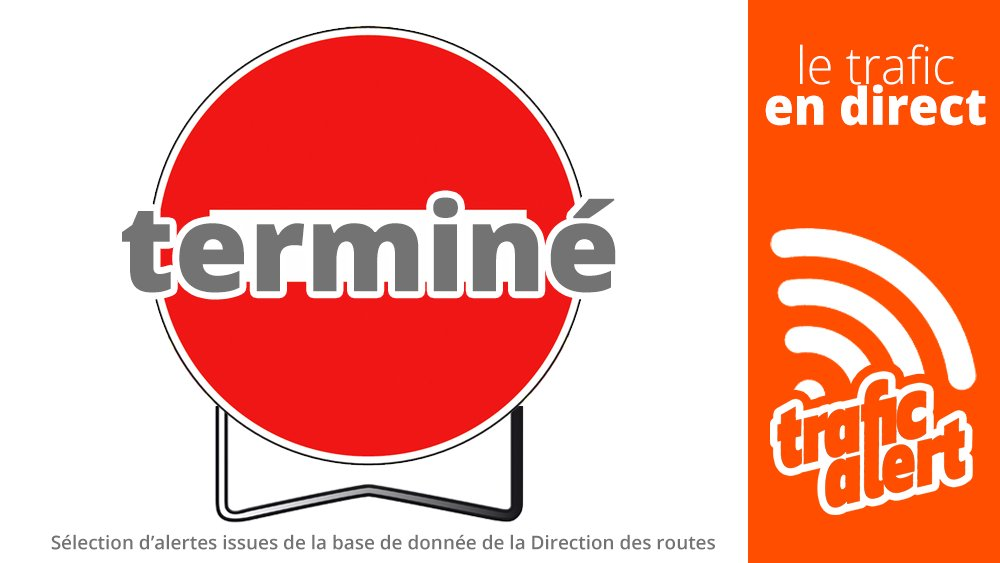 [LE TRAFIC EN DIRECT] 08:25 #A43 (#73) Entrée fermée • fin alerte / #Savoie (#La MotteServolex). #infotrafic la sélection. +infos https://t.co/zZ4Ly2Wx5p https://t.co/slJE4ItzRd