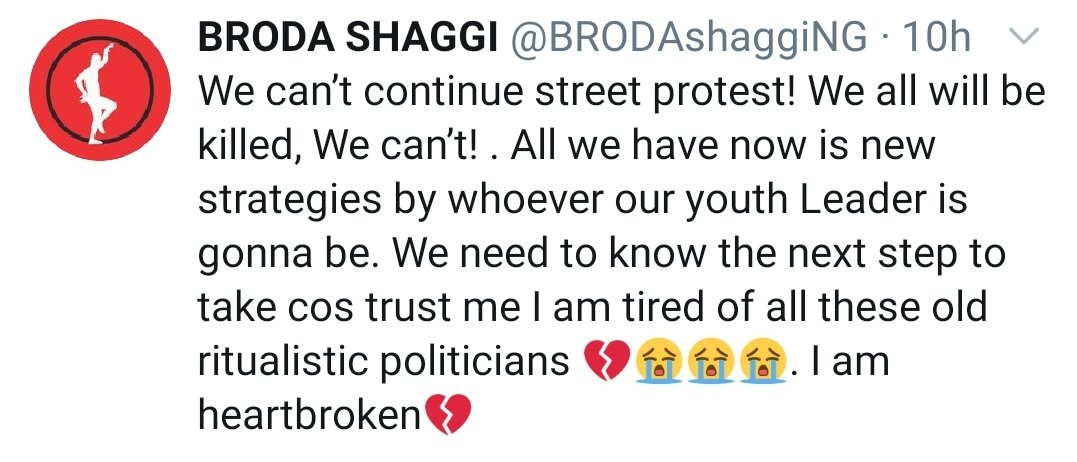 """""""We can't continue straight protest. We will all be killed"""" https://t.co/fp7rC2aHDB"""