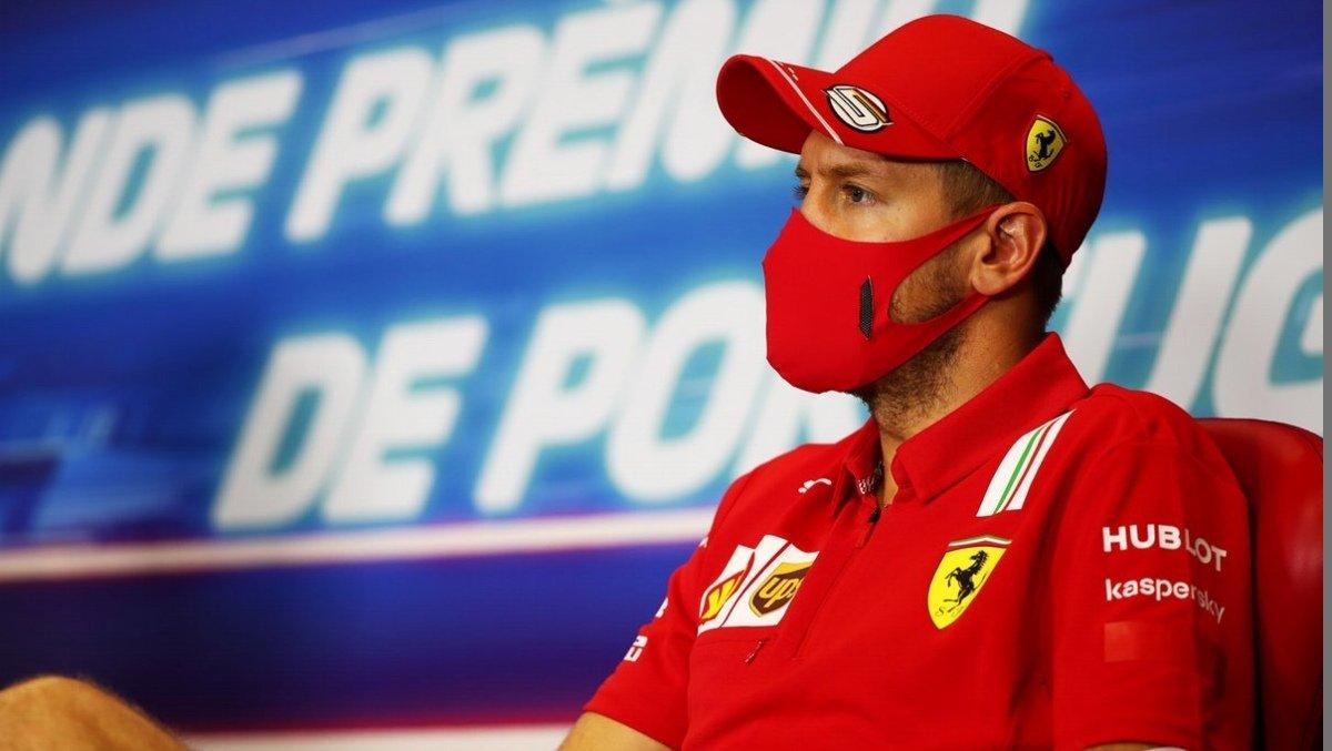 Vettel wants to do all. he can to end Ferrari career on a high  #sebastianvettel #vettel #formula1 #f1 #ferrari #seb5 #scuderiaferrari #lewishamilton #PortugueseGP https://t.co/EqLlkH59Wk