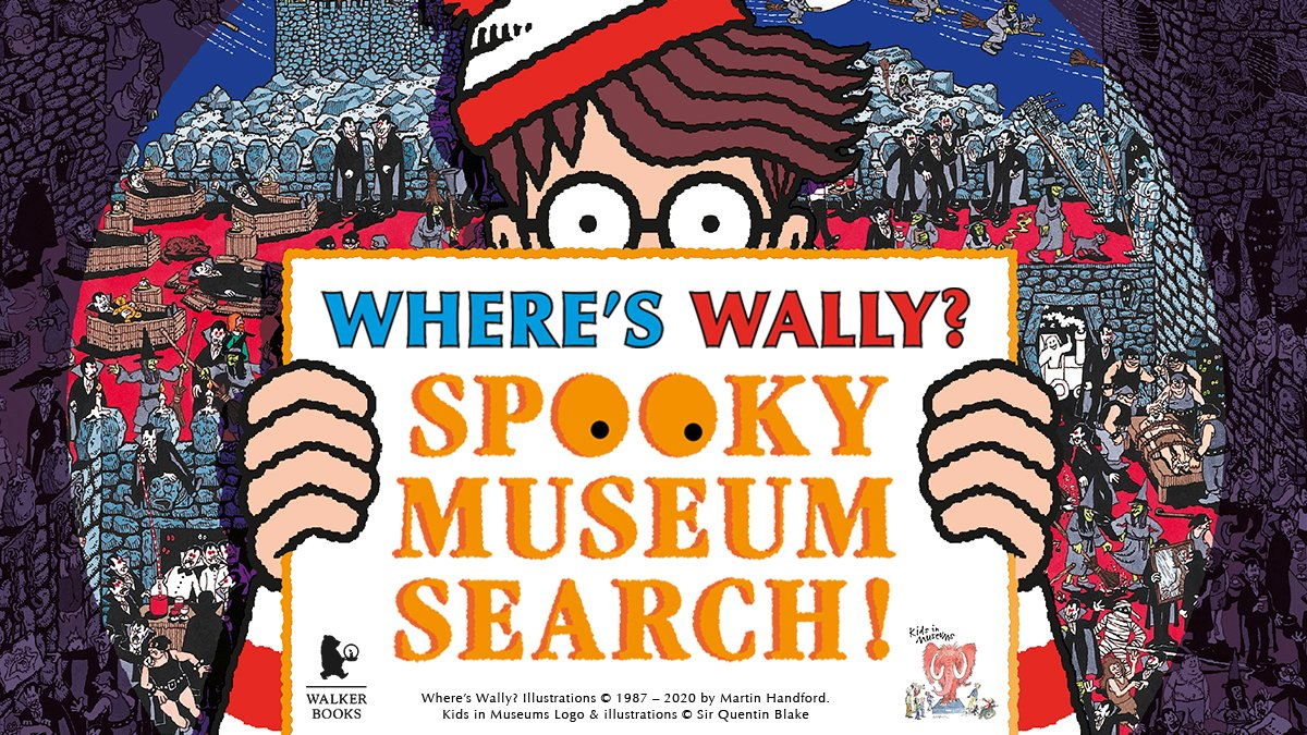 Join the hunt for Wally @AshmoleanMuseum this #halfterm #families FREE! All welcome. Just remember to book your free tickets to get into the museum https://t.co/Pkr19LqBmd #wallyspookymuseumsearch @kidsinmuseums https://t.co/e27BJDwzng