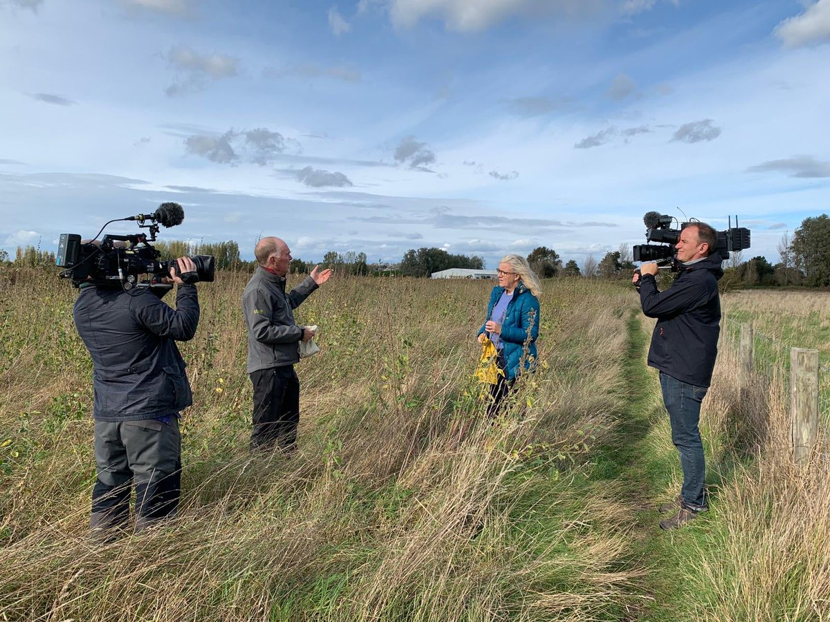 Recently, Barry Yates told the story of Marshmallow @ryeharbour_NR to Charlotte Smith on @BBCCountryfile. Look out for Barry on this evening's show. https://t.co/5gtwcwv1j9 https://t.co/w0P1OLRrpv