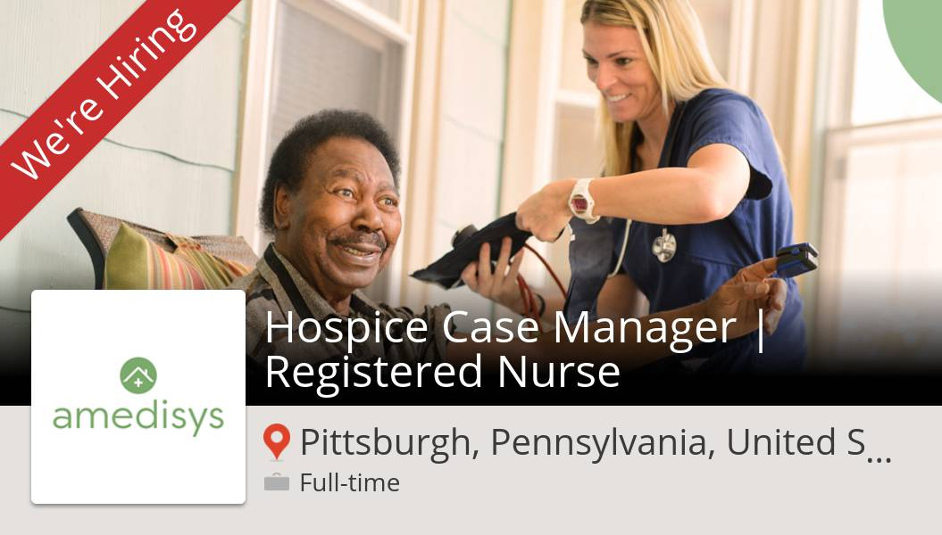 Hospice Case #Manager   Registered #Nurse needed in #Pittsburgh at #Amedisys. Apply now! #job https://t.co/CABMims9Gk https://t.co/Dk99QAG3rv