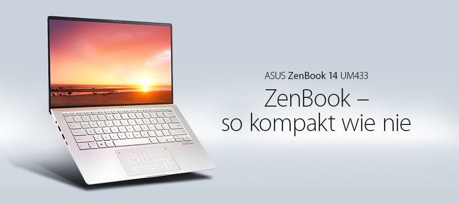Das #ASUS #ZenBook 14 UM433 ist eines der weltweit kompaktesten Notebooks der 14-Zoll-Klasse. Ausgerüstet mit Windows 10, AMD® Ryzen™ Prozessor, viel Arbeitsspeicher und einer blitzschnellen PCIe SSD ermöglicht es Dir Leistung ohne Kompromisse. https://t.co/THVHd5tOEs https://t.co/WqF4VpG5Sl