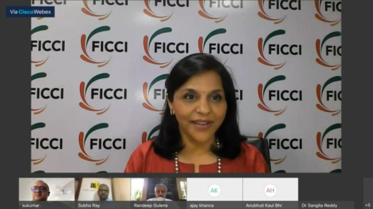 There are multidimensional opportunities in the usage of data in the healthcare world: Dr Sangita Reddy, President, FICCI on Building a Pandemic Resistant World at PAFI's 7th National Forum 2020.  #PAFINationalForum https://t.co/YWa06cW4ST