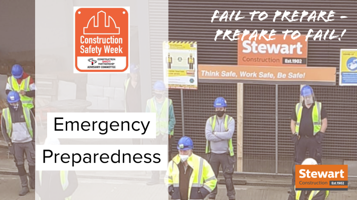 We have partnered with @CIF_Ireland for Safety Week 2020 (19th - 23rd October). Each day, across all our sites, we will focus on a relevant theme inclusive of COVID-19 messaging.  Today's theme is 'Emergency Preparedness'.  #CIFSafety20 https://t.co/3HzpKdesDG
