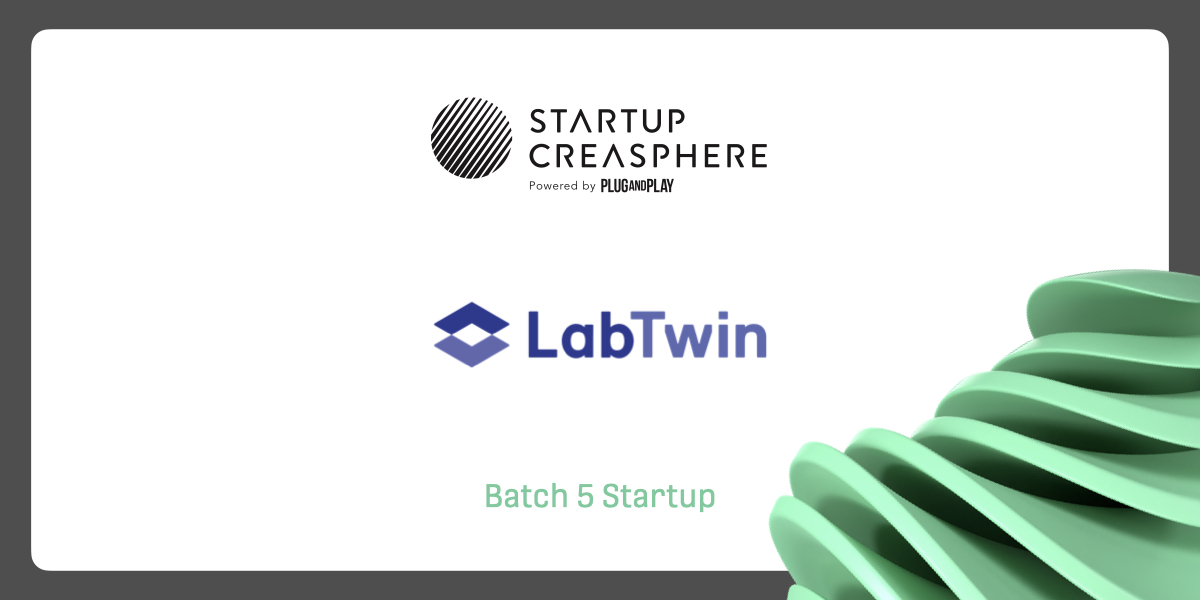 Excited to share that LabTwin is joining the @StrtpCreasphere #Batch5 program! We're looking forward to piloting with @Roche and @PnpHealth!   More details: https://t.co/Xf3U2sCaCx  #startupcreasphere #batch5 #LabOfTheFuture #DigitalLabAssistant https://t.co/C7OV8zXkaz