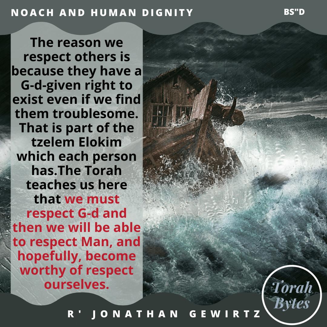 #noah #respect #G-d #man @rabbigewirtz https://t.co/qoPFLiwPre