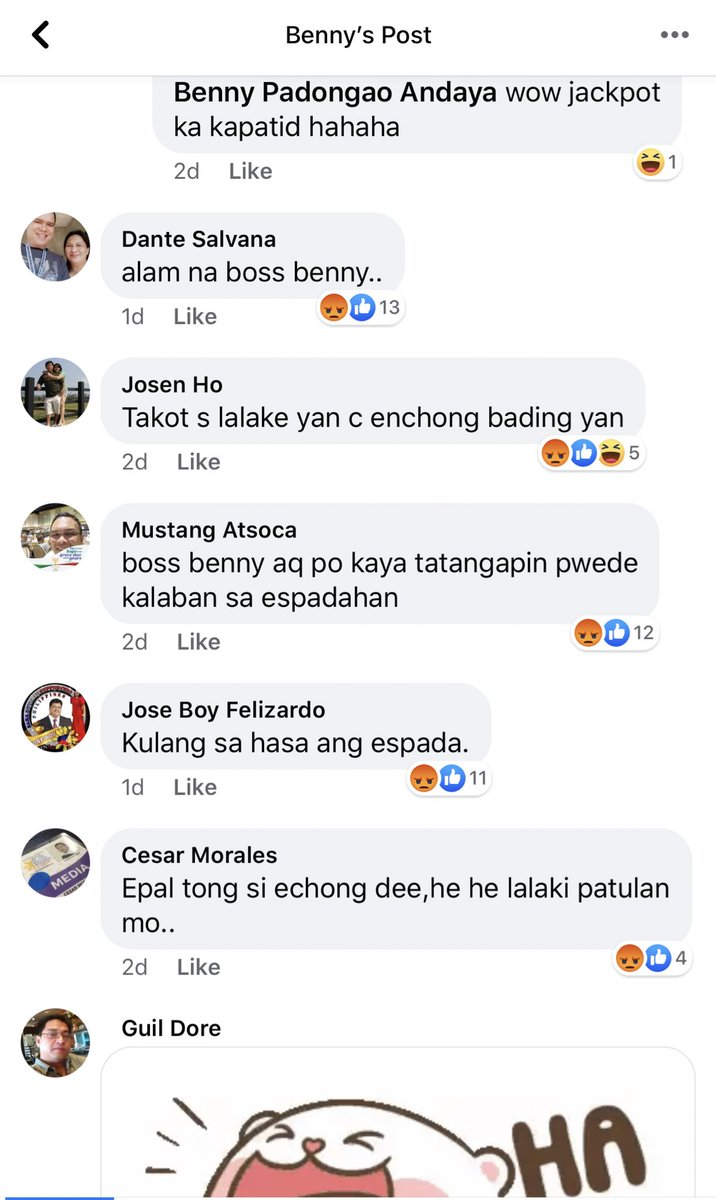 "I really hope people stops using ""Gay or bading"" in a derogatory way. Hay Benny Antiporda ni- like nyo pa po ang comment. https://t.co/ZcKCQhAkhj"
