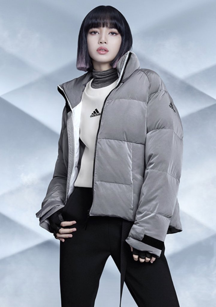 Lisa BLACKPINK Rosé Dazed Adidas