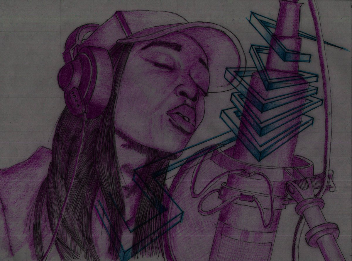 No doubt, one of the best remakes I've done to my drawings.   #Rap #StreetArt #purple #graffiti #art #illustration #digitalart #minimalism #music #lofigirl #London #design #painting #Inspiration #Creative #FlowWithMe #FridayFeeling https://t.co/C4fi9Xt15B