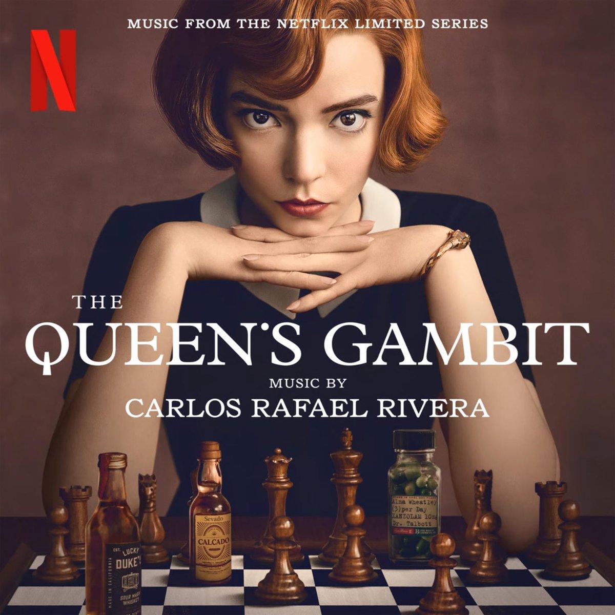 Escucha el #soundtrack de #GambitoDeReina / #TheQueensGambit, miniserie de drama protagonizada por Anya Taylor-Joy, basada en la novela del mismo nombre de Walter Tevis https://t.co/Vn9Ud4P7Hj https://t.co/HMD9NfPlmS