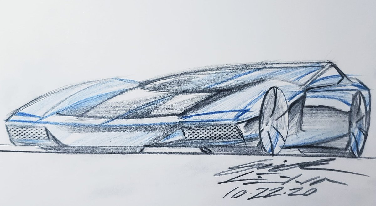 DAY 316 • HEATWAVE • #sportscar #supercar #hypercar #electriccars #electricvehicle #transportationdesign #productdesign #industrialdesign #cardesign #design #carsketch #dailydesign #dailydrawing #dailyillustration #dailyart #art #concept #conceptcar #conceptdesign #conceptart https://t.co/1OWBjcN5Vk