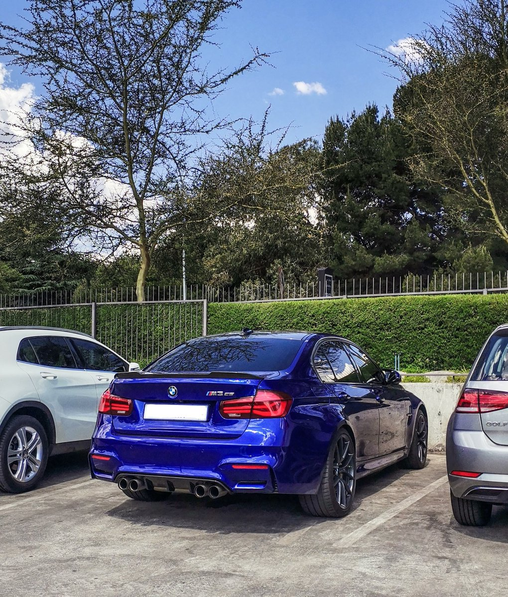 San Marino Blue BMW M3 CS! 🔵  #BMW #M3 #CS #M3CS #Blue #SanMarino #Mpower #Germany #German #JHB #Johannesburg #SA #SouthAfrica #LifeAboutCars https://t.co/CGYymnP0wc