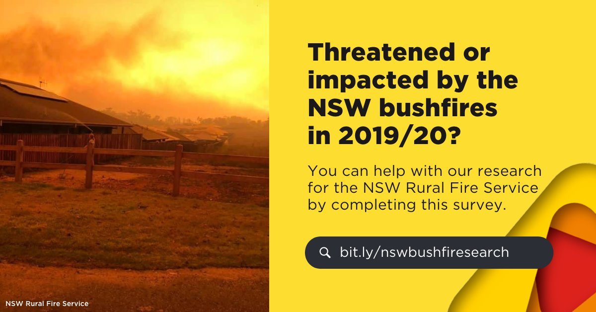 If you were a tourist in NSW last summer, we want to learn from your experience in a survey: https://t.co/88PJnMuugA  Your participation will be used by @uowresearch @Macquarie_Uni and @NSWRFS to improve future communication and safety.  Learn more here: https://t.co/emFfXW3OkX https://t.co/D0dyb1WZZS