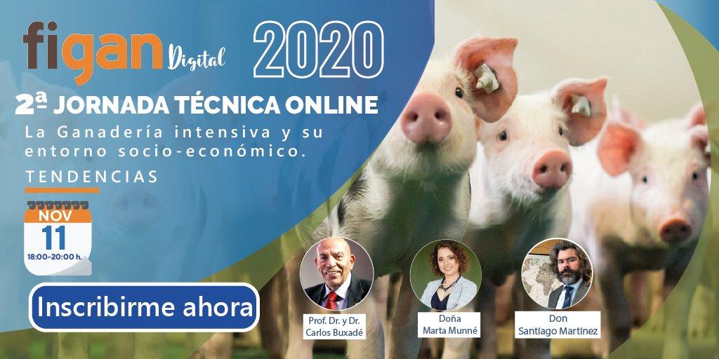 """✅¡INSCRÍBETE!✅2ªJornada Técnica Online #FIGAN2021 """"La ganadería intensiva y su entorno socio-económico"""".👉 REGÍSTRATE GRATIS https://t.co/ywNTO1DiIn .MODERADOR: Dr. Carlos Buxadé - PONENTES: Doña Marta Munné de @AECOC y Don Santiago Martinez @ibercaja . @feriadezaragoza https://t.co/rGb92hAZqB"""