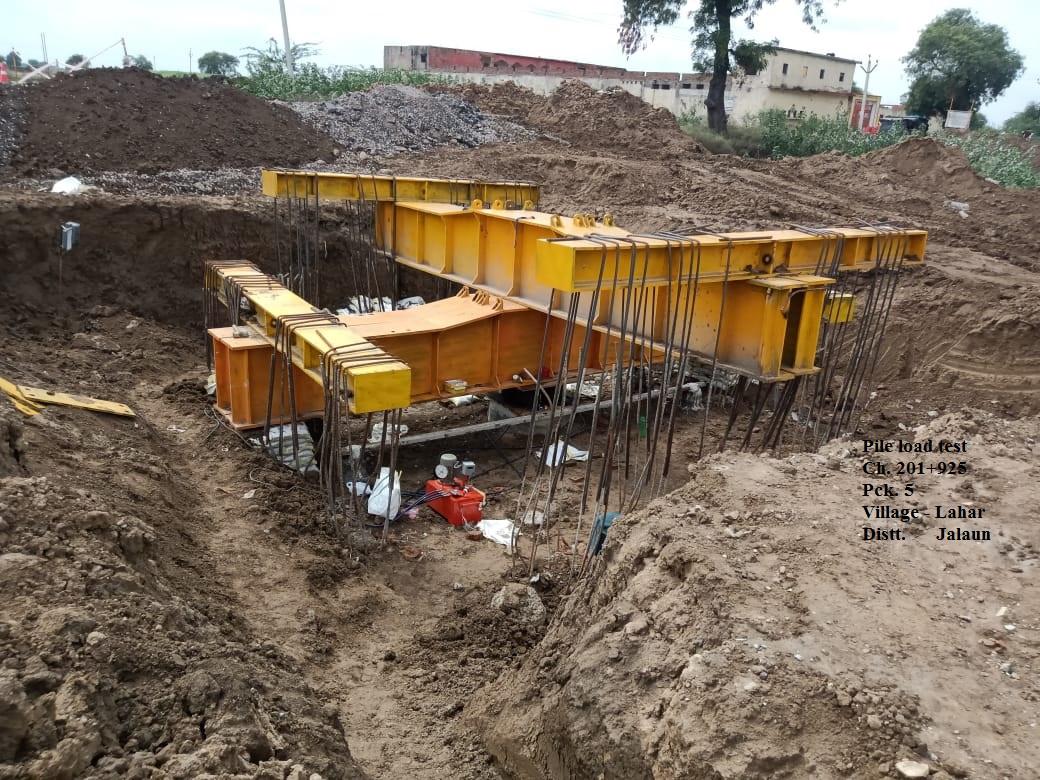 Bundelkhand Expressway | Construction Work