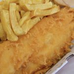 Image for the Tweet beginning: Today is fish and chip
