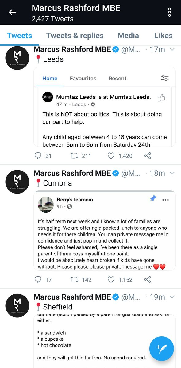 Marcus Rashford appears to have set up an alternative government