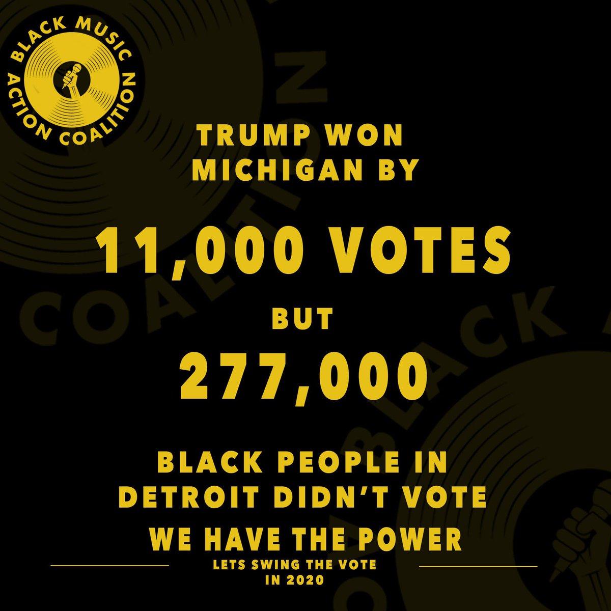 #WeHaveThePower #BlackVotesMatter #BlackMusicMatters #BlackLivesMatter