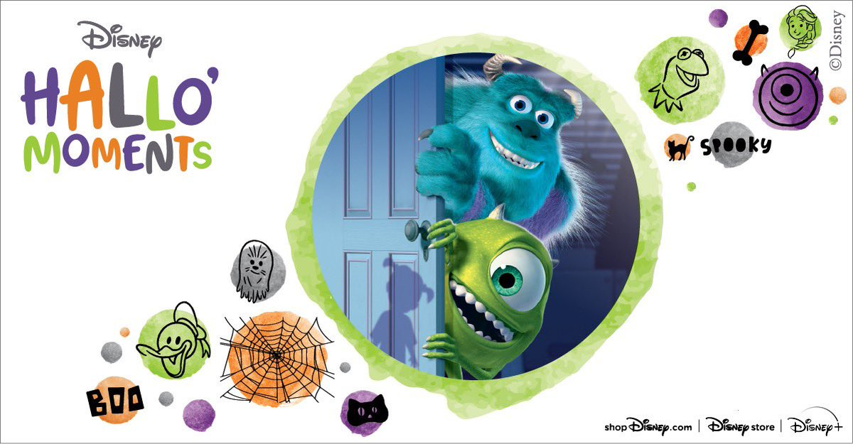 And catch Monsters, Inc. streaming on @disneyplus this weekend during #DisneyPlusHallowstream !