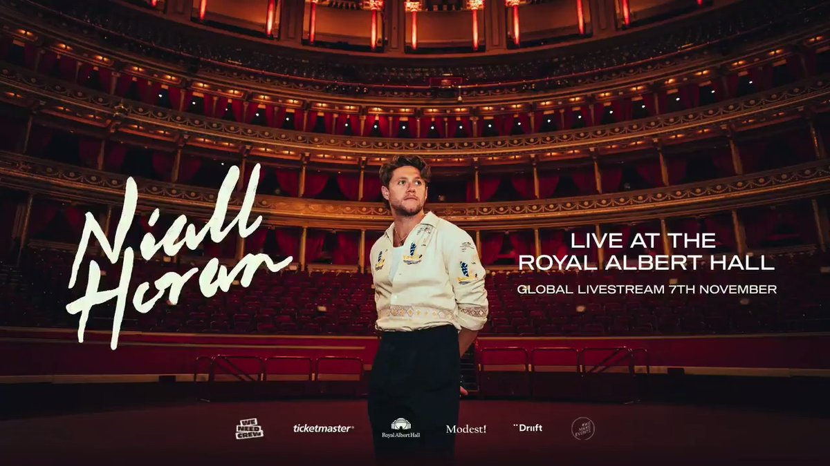 Tickets for my live stream performance at @RoyalAlbertHall are on sale now !   There are 4 different streams so you can watch the one most convenient to you. Please help me support the amazing people whose work in touring has been severely affected .
