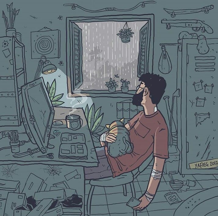 Real time is slower than social-media time, where everything feels urgent. Real time often includes periods of silence, reflection, growth, space, self-forgiveness, processing with loved ones, rest, and responsibility. —@adriennemaree  artwork by https://t.co/hu30X3jzBQ https://t.co/d8nq0BECKG