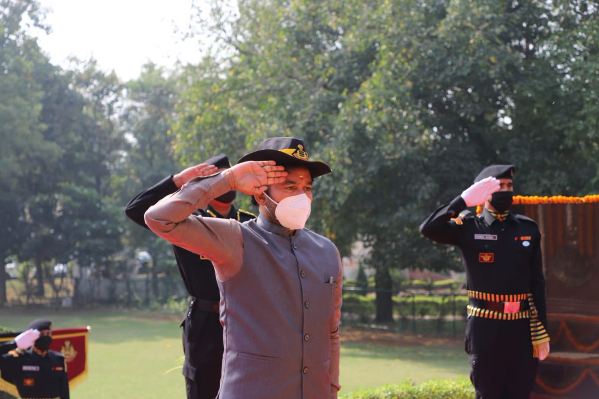 The @nsgblackcats, over the past 36 yrs have rendered tremendous service to this great nation. It isn't just a professional force, but also a group of patriots. Addressed 36th NSG Raising Day Ceremony at its HQtrs in Manesar today. Hon HM Shri @AmitShah ji conveyed his message.