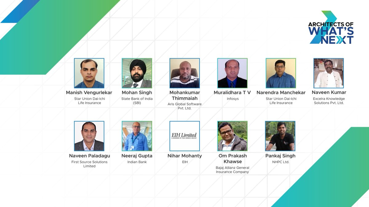 Celebrating the Architects of What's Next 2020 for their exceptional contribution to a future of possibilities and pioneering the path to innovation. Congratulations vChampions! #LeadForwardIN #AOWN #VMwareIN https://t.co/EDoq2cxy6E