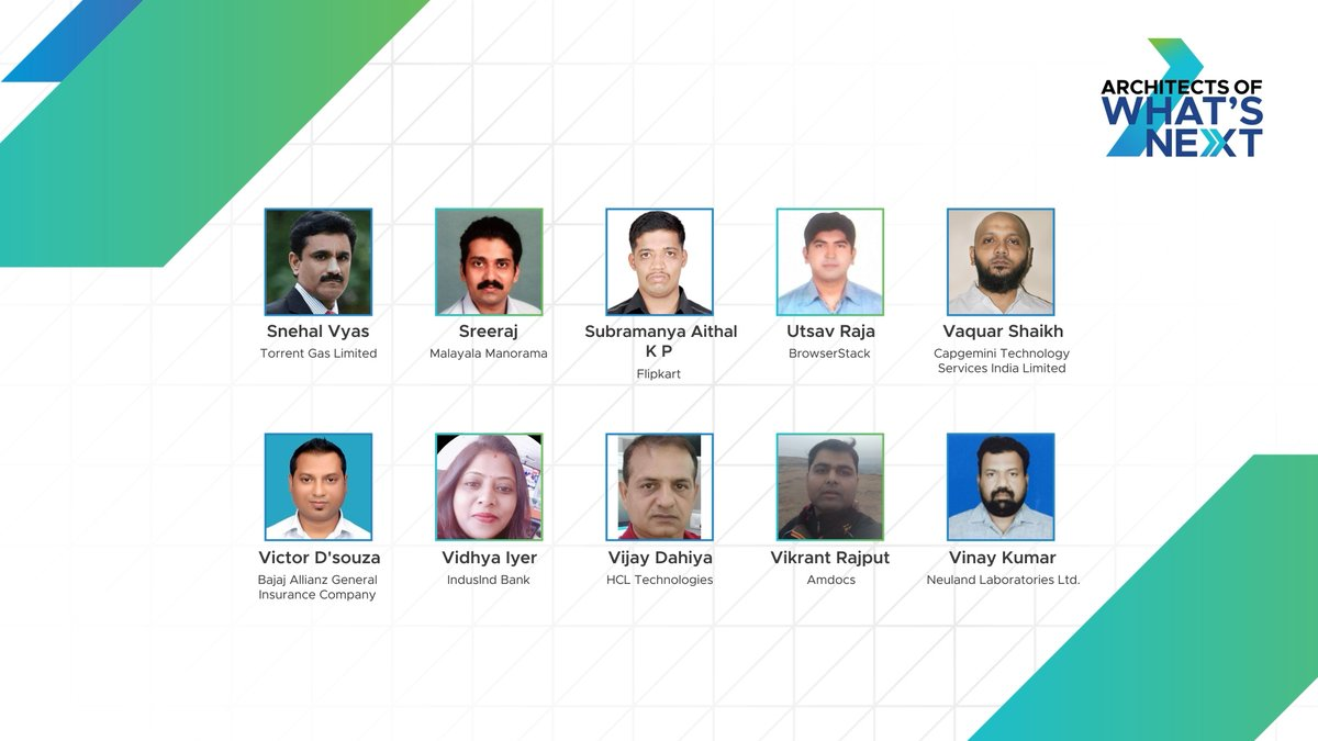 A hearty congratulations to all the winners! These #vChampions delivered an intuitive experience to their employees with path-breaking innovations. Check out the complete winners list below: #LeadForwardIN #AOWN #VMwareIN https://t.co/y1EZ9Sozdm