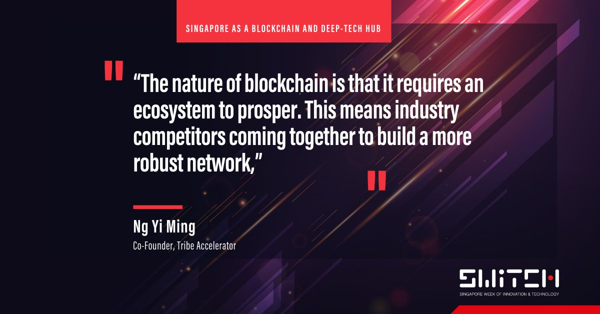 💥Come learn about everything #blockchain, and connect with #TribeAccelerator, #OpenNodes and our network of partners @ #SFFxSWITCH!  Read about Tribe Co-Founder Yi Ming in this  @Prestige_SG article: https://t.co/bTxGgtrrpw  Get your pass to SFFxSWITCH! https://t.co/6jU9xJ2r6q https://t.co/R86jASB7XW