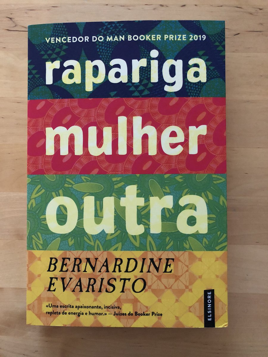 Girl, Woman, Other out now in Portuguese with Elsinore. Please let your Portuguese friends know! (Separate Brazilian edition also forthcoming.)