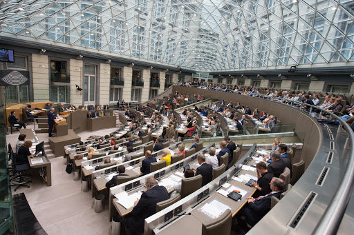The Flemish Parliament of Belgium unanimously adopted a resolution emphasizing the violations of the International Humanitarian Law by #Azerbaijan against the population of #Artsakh   https://t.co/ZkK5OBXEVm https://t.co/icRU5ZVrNm