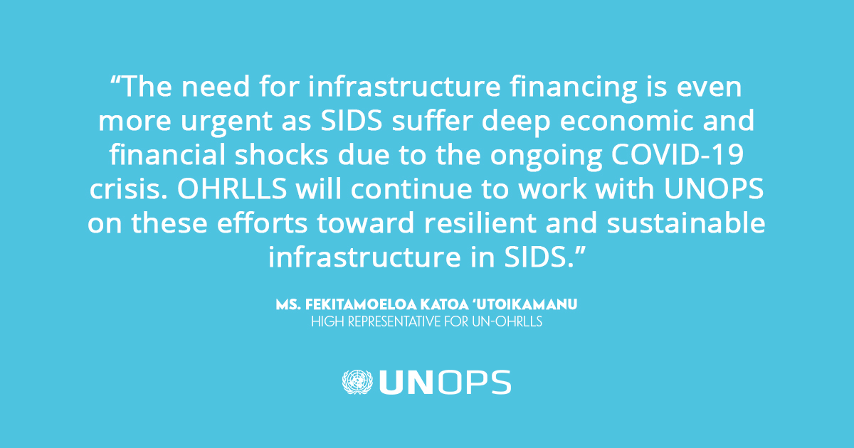 For Small Island Developing States, #COVID19 has affected tourism, supply chains & more.   In our new report, we argue that effective infrastructure investments are more critical than ever: https://t.co/EMzxZIkTOm https://t.co/vBExhYAF8O