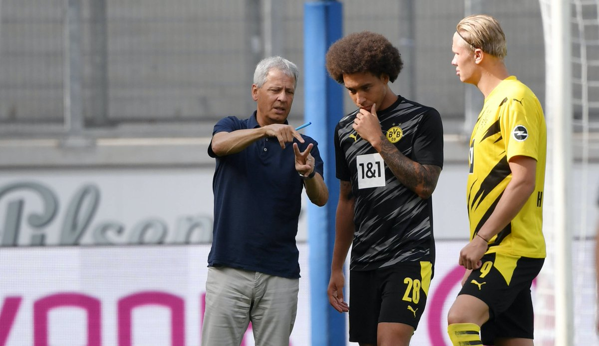 😯 Ausgerechnet gegen #BVB-Angstgegner #Hoffenheim feiert Trainer Lucien #Favre ein #Bundesliga-Jubiläum. Platzt bei Erling #Haaland der Auswärtsknoten?   📝 Die Fakten zu #TSGBVB (RN+): https://t.co/Ph6NX19JPL (Foto: imago) https://t.co/MTNJ6jOw7o