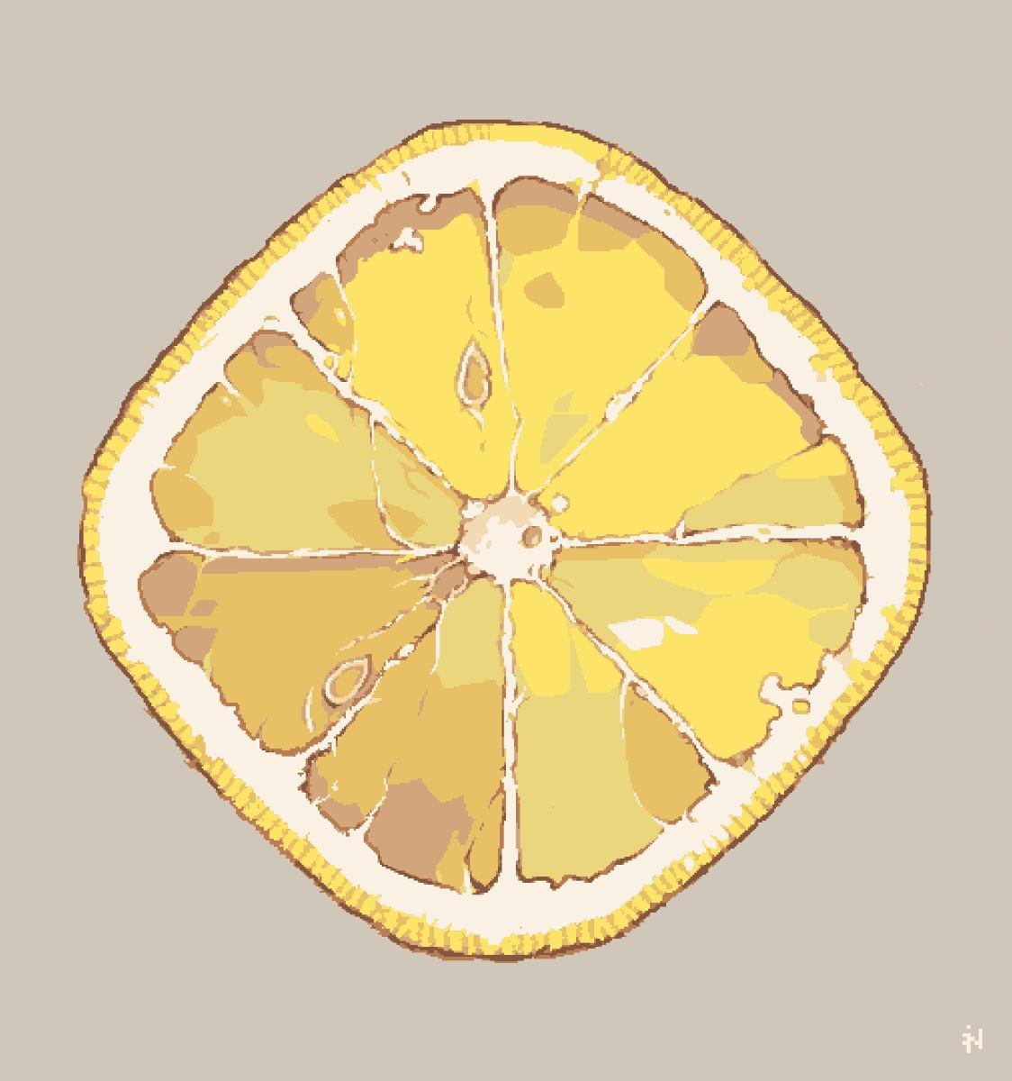 Lemon #pixelart