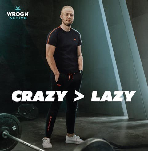 The longer you put it off, the heavier it gets. Get off your ass, and let's do this with #WrognActive! Hit the link in my bio and grab your Active Wear from @myntra now! @staywrogn #Staymad #Staywrogn