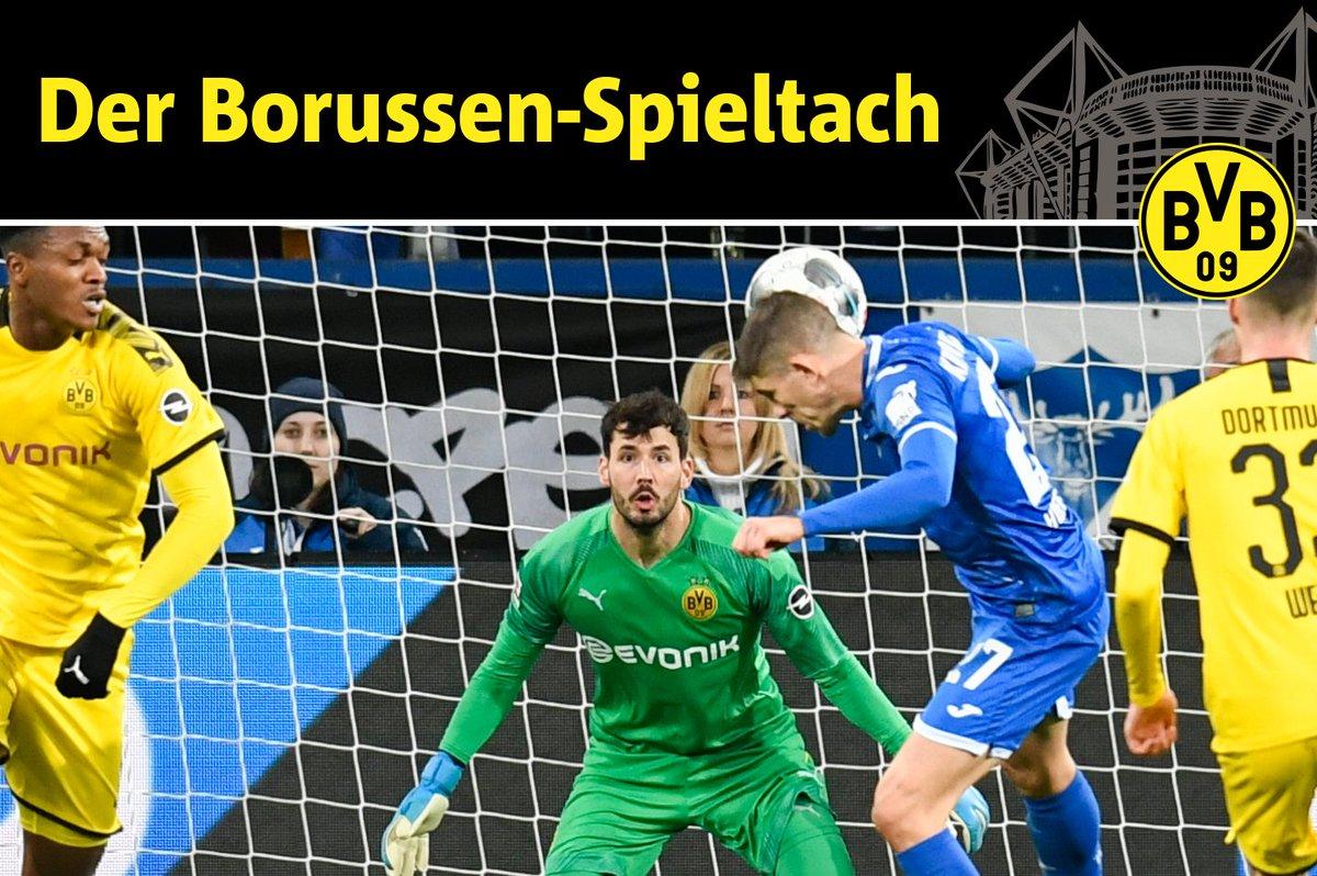 ☝🏻 Bei Angstgegner #Hoffenheim wartet auf Borussia #Dortmund ein echter Härtetest. Gelingt der erste Sieg im Kraichgau seit Dezember 2012?   ℹ️ Alle Infos gibt's in unserem Borussen-Spieltach: https://t.co/zytRkuq1jH #TSGBVB (Foto: dpa) https://t.co/YNALFMr4Ef
