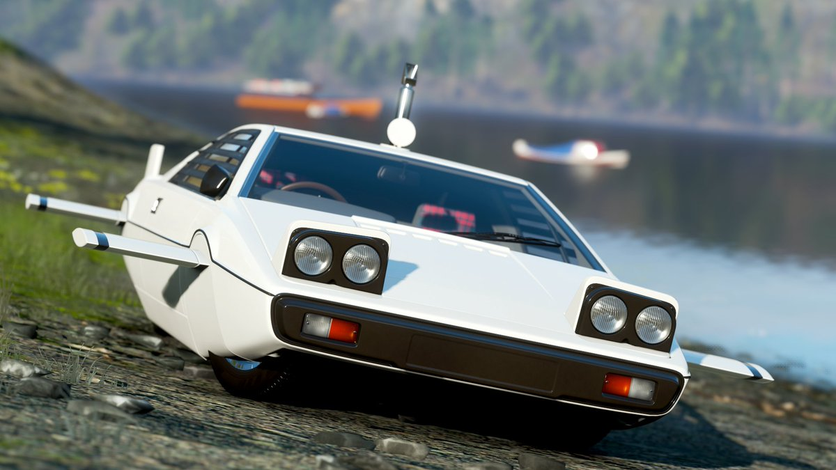 Car 553 - 1977 James Bond Edition Lotus Esprit S1  #ForzaHorizon4 #ForzaShare #Xbox #Forza #HorizonPromo https://t.co/XL262x49Ae