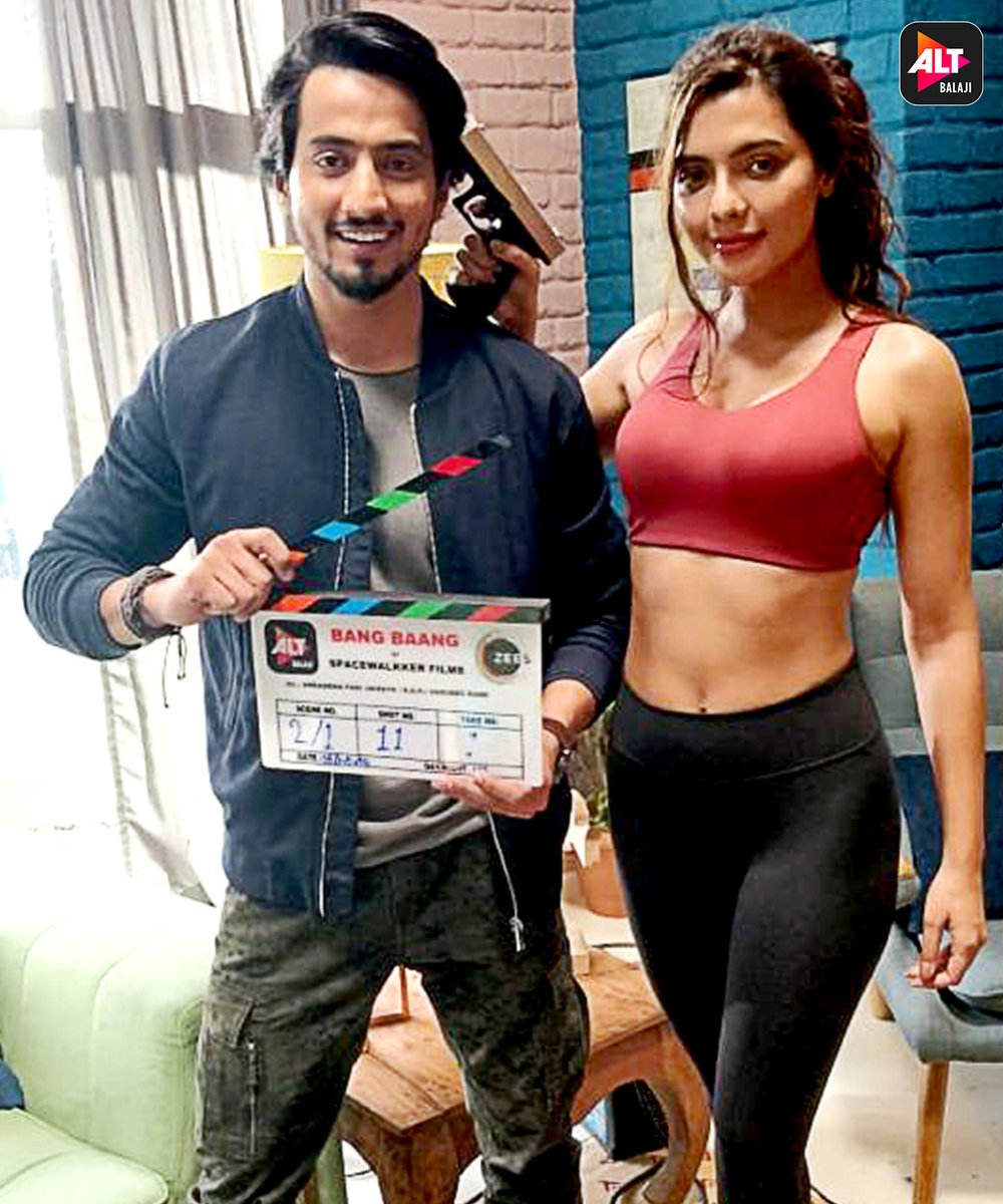 And the action begins....Shoot starts for the most awaited action thriller of the year #BangBaang with @Mr_Faisu_07  and @ruhisingh11💥 Stay tuned to #ALTBalaji for more updates.    @ektarkapoor @TweetBaljit @ZEE5Shows @269cd3f5a1424db @thatsshreyaa @gaasawant @JairathAmit https://t.co/vvyhXlKUjD