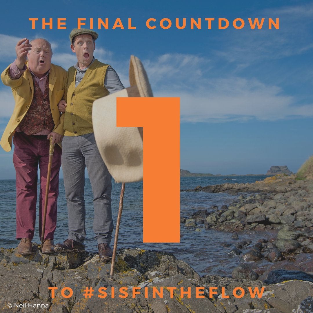 #SISFInTheFlow kicks off tomorrow! Have you booked your tickets yet?   All aboard with Sam and Bozzie! Part of our Voyage series, join storytellers Andy Cannon and Christopher Craig for Boswell and Johnson's infamous trip across Scotland to Iona.  BOOK: https://t.co/DkefGV14u8 https://t.co/0iTyCKR0MY