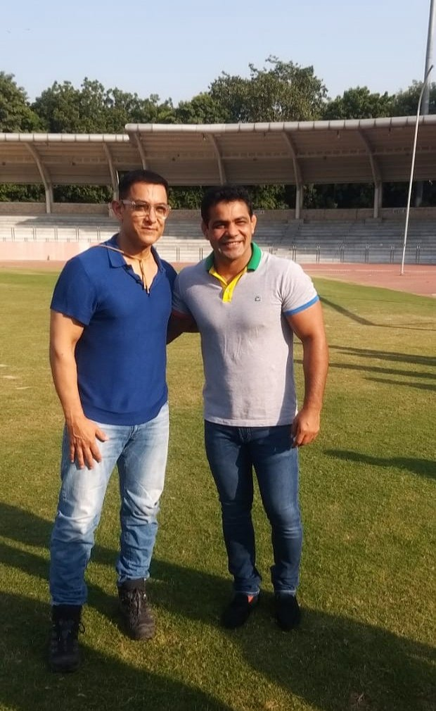 It was wonderful meeting you #AamirKhan ji.. you are always an inspiration..!!