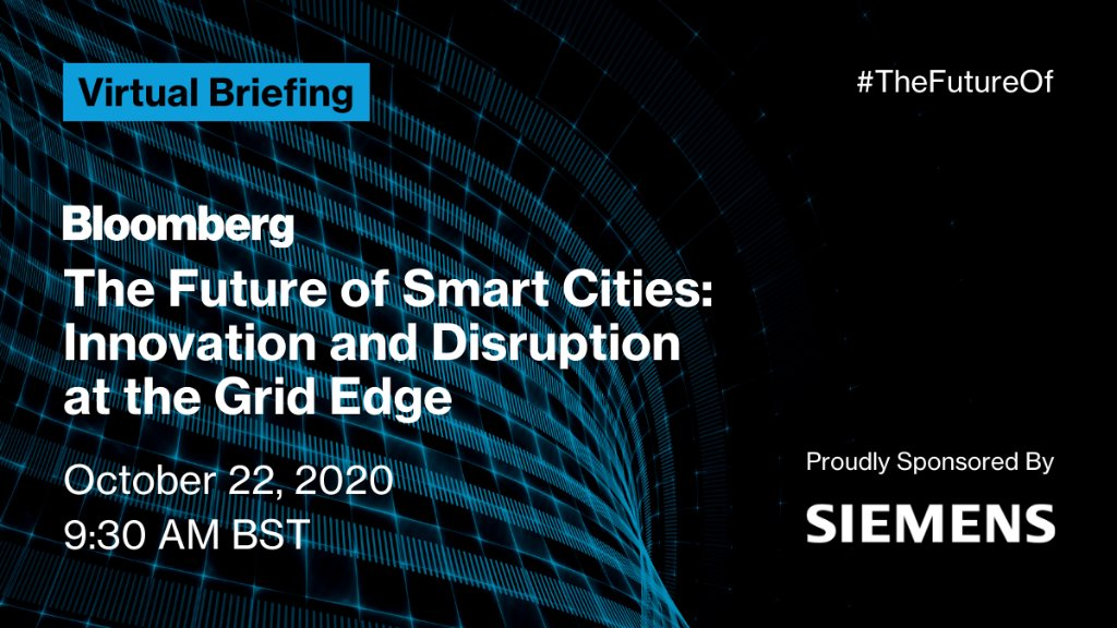 For decades our power supply has been produced in large power plants. Decentralization & #digitization of the grid is becoming the new reality as energy moves to the #GridEdge. Join the discussion at the #TheFutureOf Smart Cities virtual event on Oct 22! https://t.co/1LomRHRvEP https://t.co/CvwsoWdYXR
