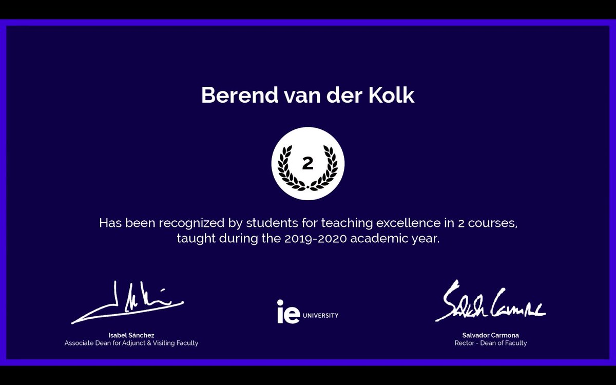 Thanks, last years students (too many to tag here, but you know who you are 😉 )! It was really because of your flexibility, effort and enthusiasm that we managed to make it all work last year! It was a pleasure!