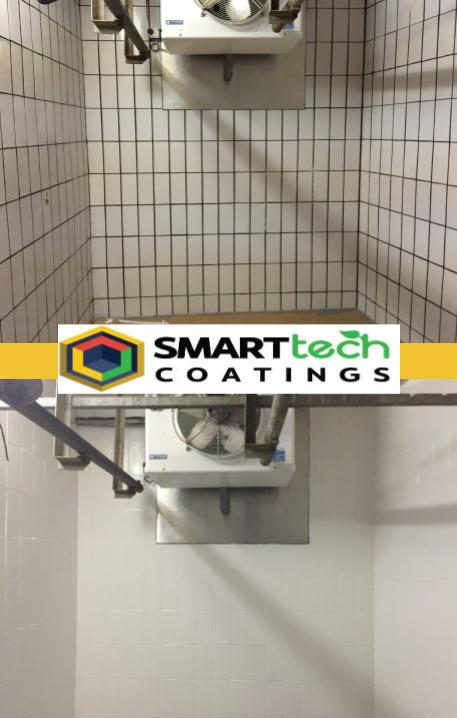 Polarcoat Food Safe hygienic coating can be installed over virtually any surface with minimal preparation.