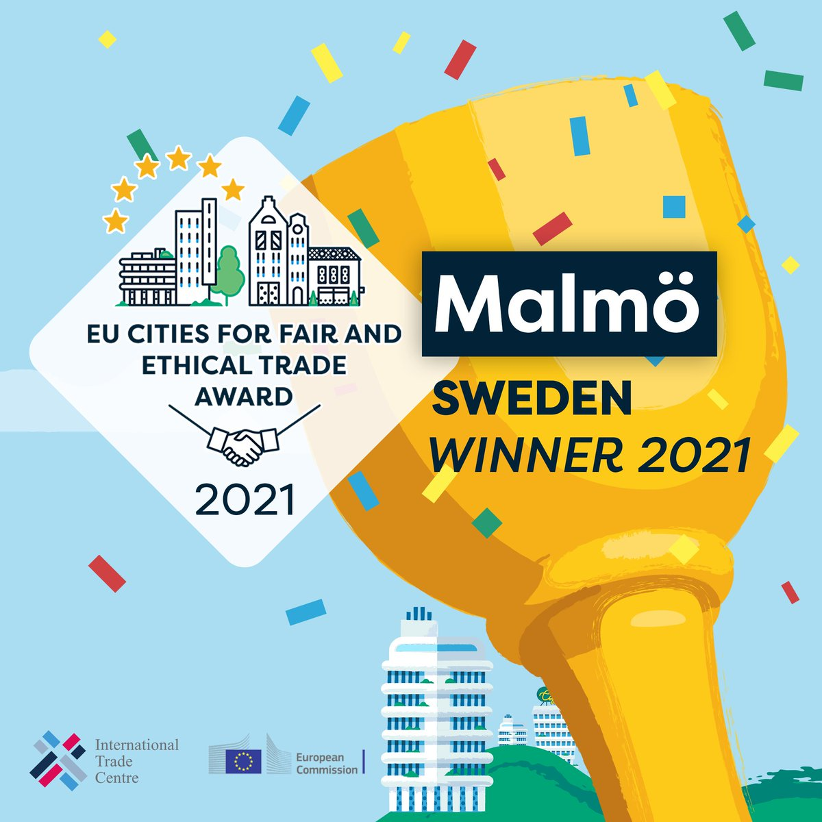 🏆🏙️🇪🇺🥳And the #TradeCityAward 2021 winner is...