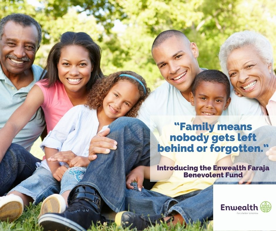 We leave no one behind in our family, register for our Faraja Benevolent Fund today! #forabettertomorrow #BenevolentFund #FarajaBenevolentFund https://t.co/AVBBDowMrs