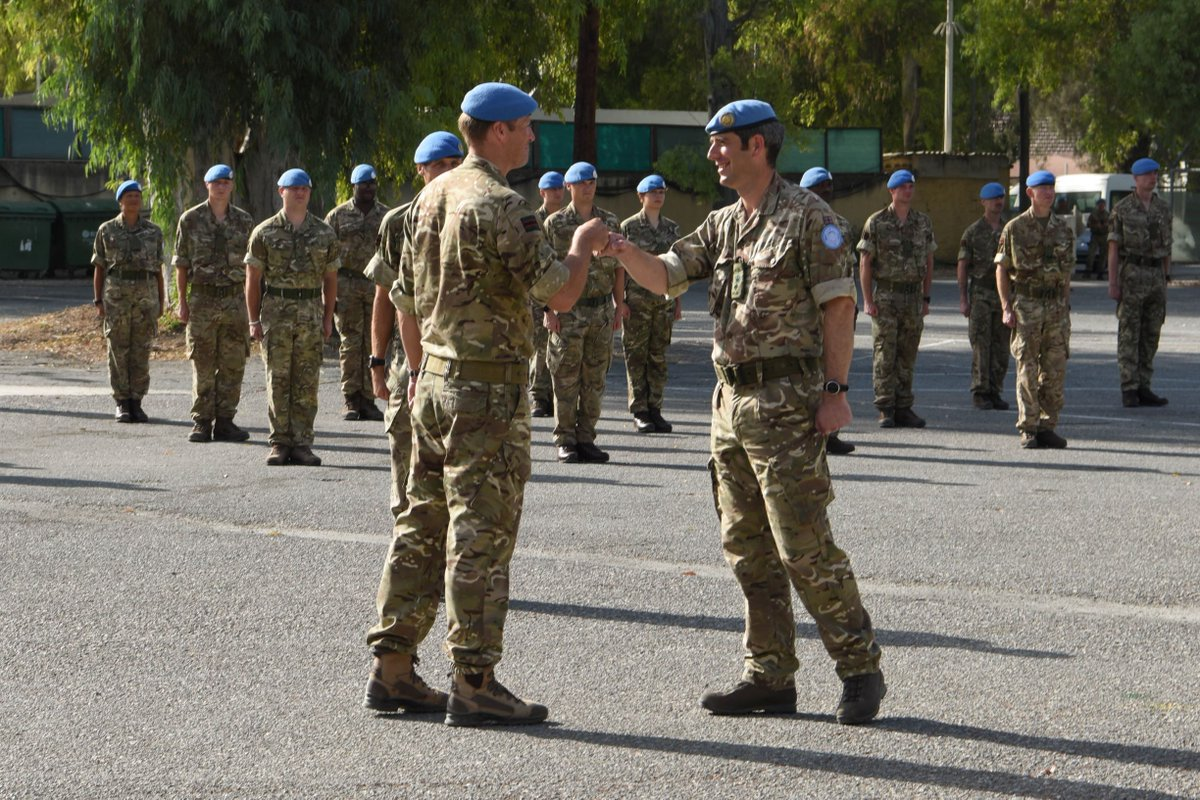 UNFICYP #peacekeepers are recognized for their service as they complete their tour of duty in #Cyprus. Major General @CherylAPearce thanked peacekeepers for their contributions and commitment to #serving4peace on the island. #A4P Read more: https://t.co/WEjY9kasVB https://t.co/xwuvxSzqZ3