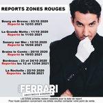 Image for the Tweet beginning: Suite aux nouvelles restrictions gouvernementales